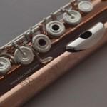 flute flutes soldered tone holes professional rose gold plating