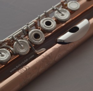 flute flutes soldered tone holes professional rose gold plating